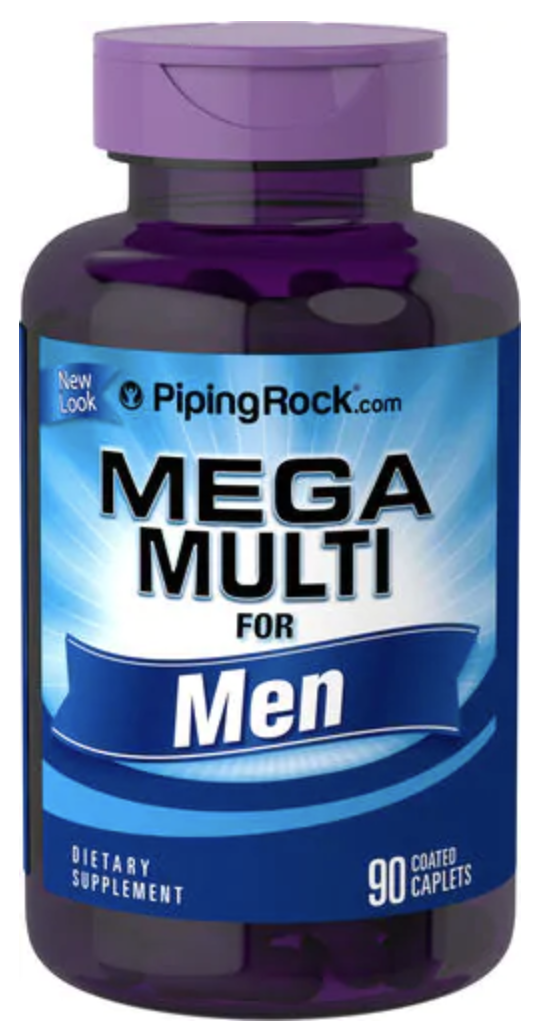 Mega Multiple für Männer, 90 Überzogene Filmtabletten