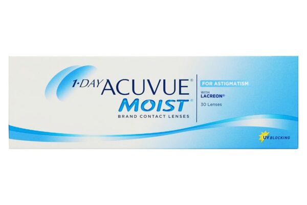 1-Day Acuvue Moist for Astigmatism 30 Tageslinsen
