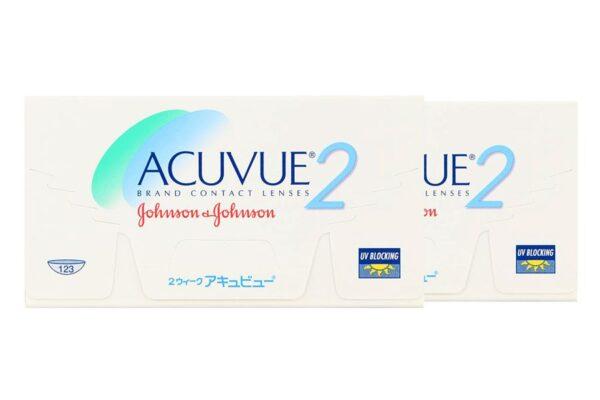 Acuvue 2 2 x 6 Zwei-Wochenlinsen