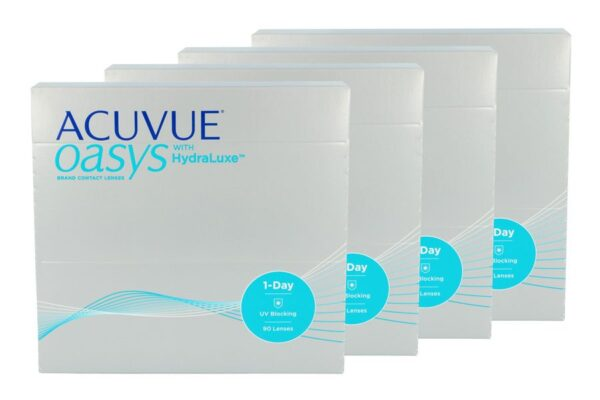 Acuvue Oasys 1-Day 4 x 90 Tageslinsen Sparpaket 6 Monate