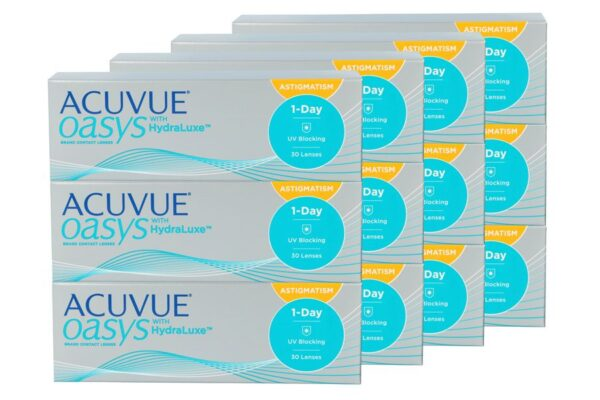 Acuvue Oasys 1-Day for Astigmatism 4 x 90 Tageslinsen Sparpaket 6 Monate
