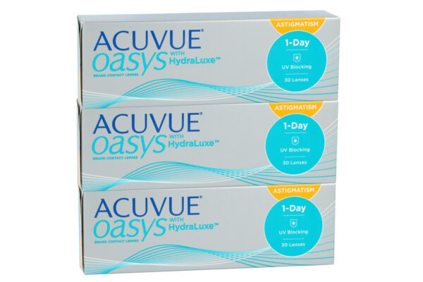 Acuvue Oasys 1-Day for Astigmatism 90 Tageslinsen