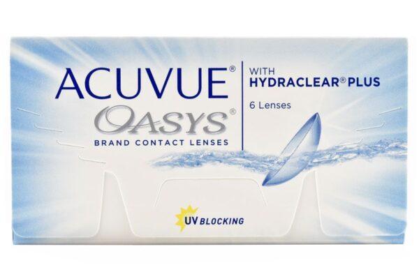 Acuvue Oasys 6 Zwei-Wochenlinsen