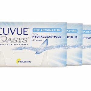 Acuvue Oasys for Astigmatism 4 x 6 Zwei-Wochenlinsen