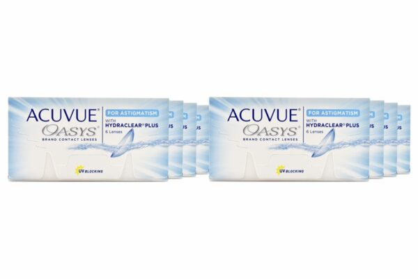 Acuvue Oasys for Astigmatism 8 x 6 Zwei-Wochenlinsen