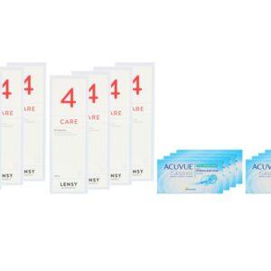 Acuvue Oasys for Presbyopia 8 x 6 Zwei-Wochenlinsen + Lensy Care 4 Jahres-Sparpaket