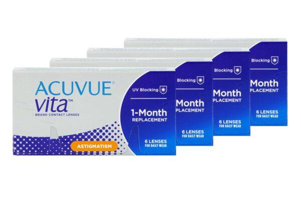 Acuvue Vita for Astigmatism 4 x 6 Monatslinsen