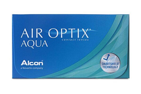 Air Optix Aqua 4 x 6 Monatslinsen + AoSept Plus HydraGlyde Jahres-Sparpaket