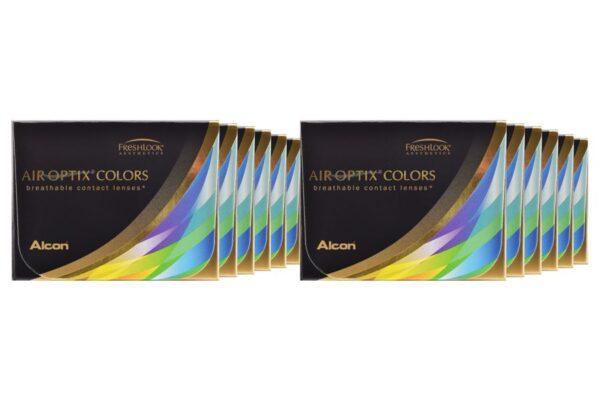 Air Optix Colors 12 x 2 farbige Monatslinsen