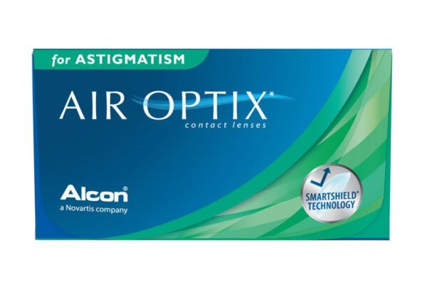 Air Optix for Astigmatism 4 x 6 Monatslinsen + AoSept Plus HydraGlyde Jahres-Sparpaket