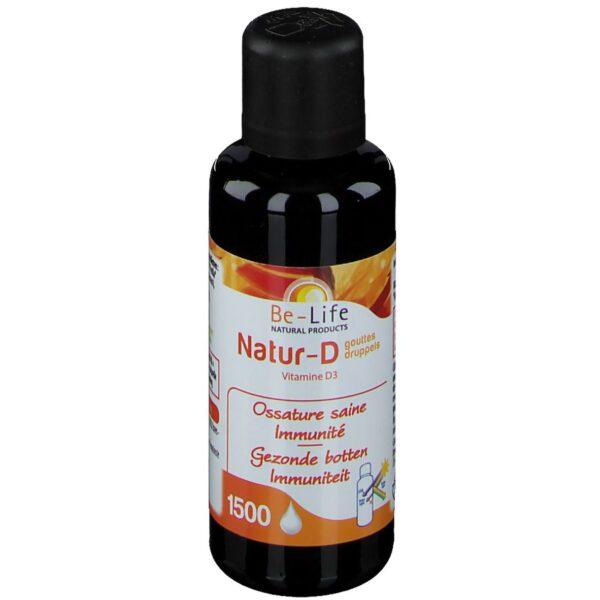 Be-Life Natur-D 4000 Gouttes Vitamine D3 naturelle