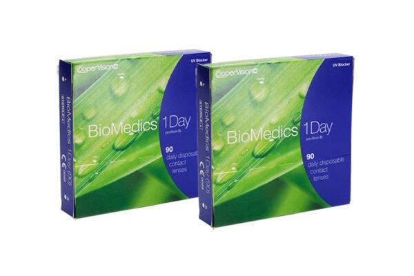 Biomedics 1 day Extra 2 x 90 Tageslinsen Sparpaket 3 Monate