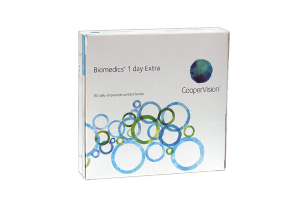 Biomedics 1 day Extra 90 Tageslinsen