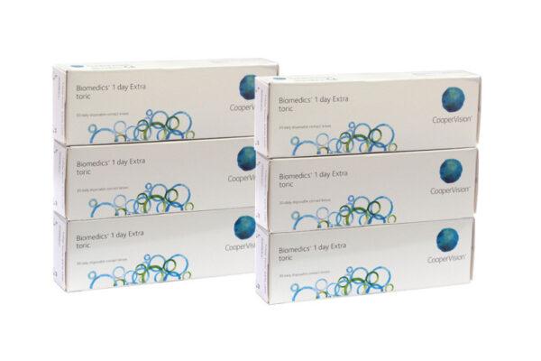 Biomedics 1 day Extra toric 2 x 90 Tageslinsen Sparpaket 3 Monate