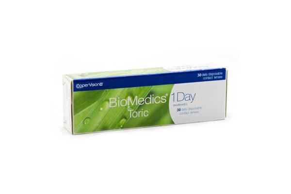 Biomedics 1 day Extra toric 30 Tageslinsen