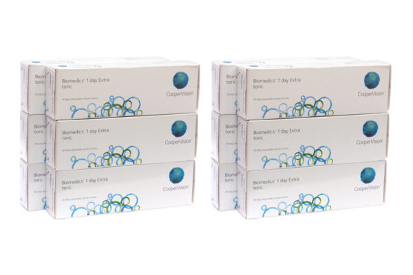 Biomedics 1 day Extra toric 4 x 90 Tageslinsen Sparpaket 6 Monate