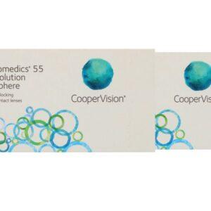 Biomedics 55 2 x 6 Monatslinsen