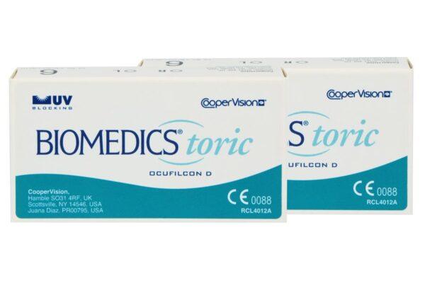 Biomedics Toric 2 x 6 Monatslinsen