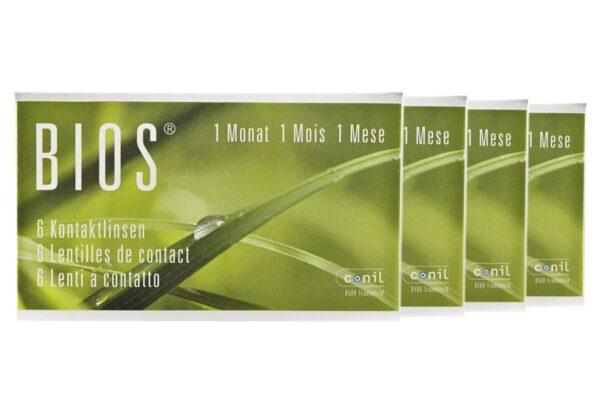 Bios 1-Monat 4 x 6 Monatslinsen