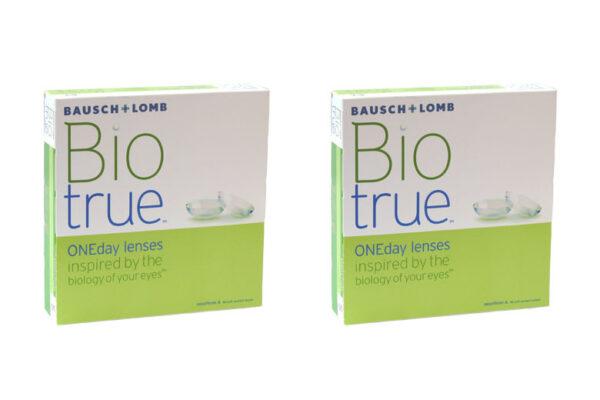 Biotrue One day 2 x 90 Tageslinsen Sparpaket 3 Monate