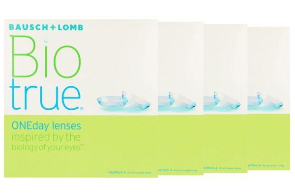 Biotrue One day 4 x 90 Tageslinsen Sparpaket 6 Monate