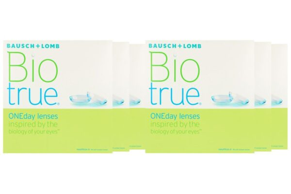 Biotrue One day 6 x 90 Tageslinsen Sparpaket 9 Monate