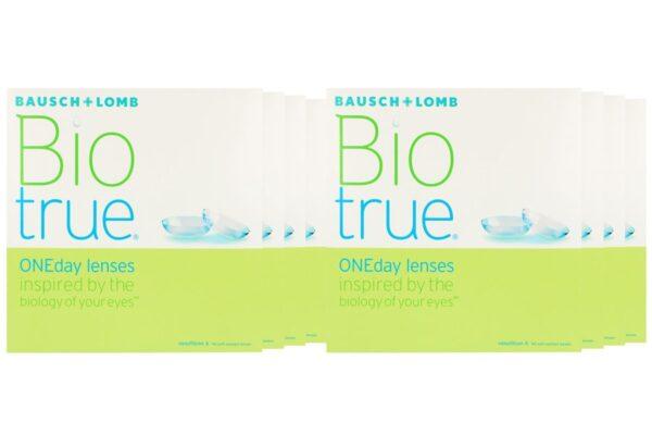 Biotrue One day 8 x 90 Tageslinsen Sparpaket 12 Monate