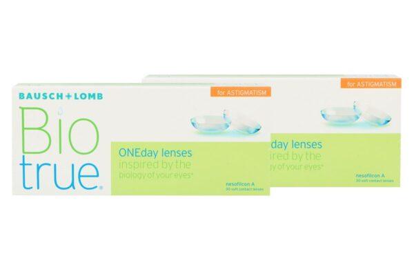 Biotrue One day for Astigmatism 2x30 Tageslinsen