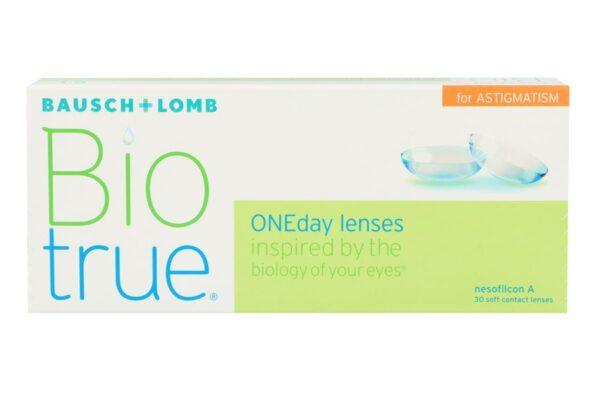 Biotrue One day for Astigmatism 30 Tageslinsen