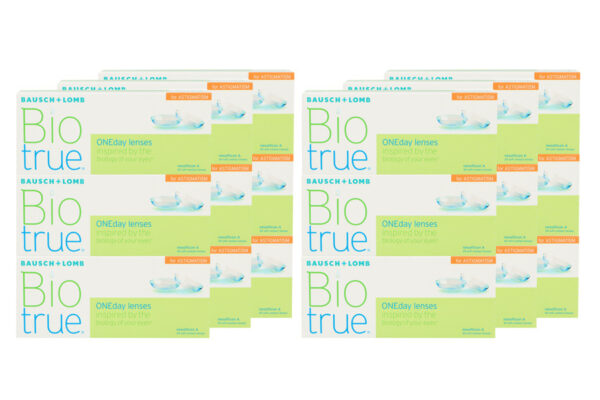 Biotrue One day for Astigmatism 6 x 90 Tageslinsen Sparpaket 9 Monate
