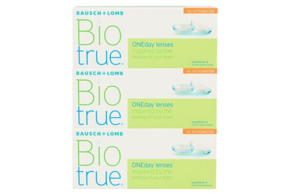 Biotrue One day for Astigmatism 90 Tageslinsen