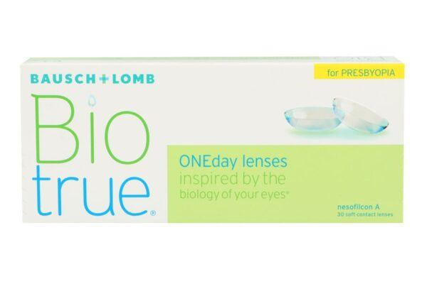 Biotrue One day for Presbyopia 30 Tageslinsen