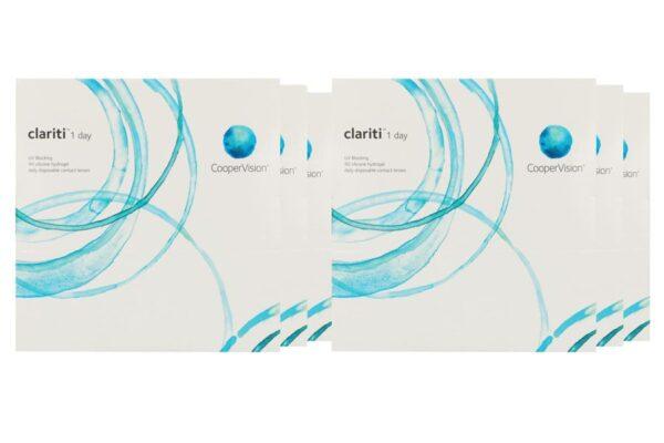 Clariti 1 day 6 x 90 Tageslinsen Sparpaket 9 Monate