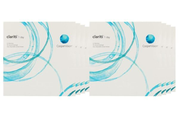 Clariti 1 day 8 x 90 Tageslinsen Sparpaket 12 Monate