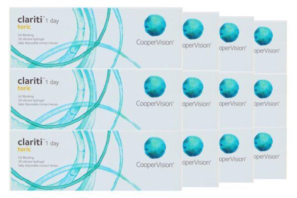 Clariti 1 day toric 4 x 90 Tageslinsen Sparpaket 6 Monate