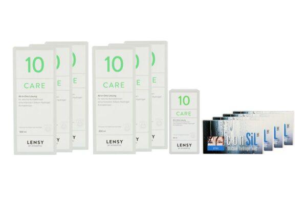 ConSiL Plus Toric 4 x 6 Monatslinsen + Lensy Care 10 Jahres-Sparpaket