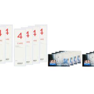 ConSiL Plus Zoom 8 x 3 Monatslinsen + Lensy Care 4 Jahres-Sparpaket