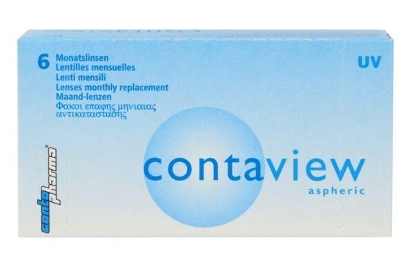Contaview aspheric UV 6 Monatslinsen