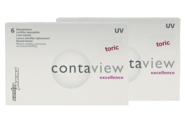 Contaview excellence toric UV 2 x 6 Monatslinsen