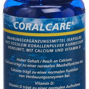 Coralcare karibischer Herkunft mit Vitamin D3 Kapsel 1000 mg VitD3 (120 Stück)