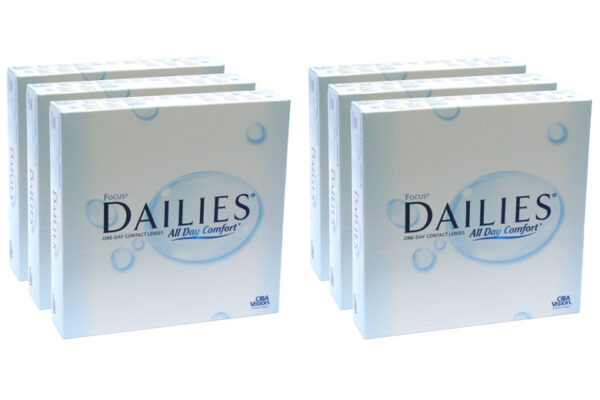 Dailies All Day Comfort 6 x 90 Tageslinsen Sparpaket 9 Monate