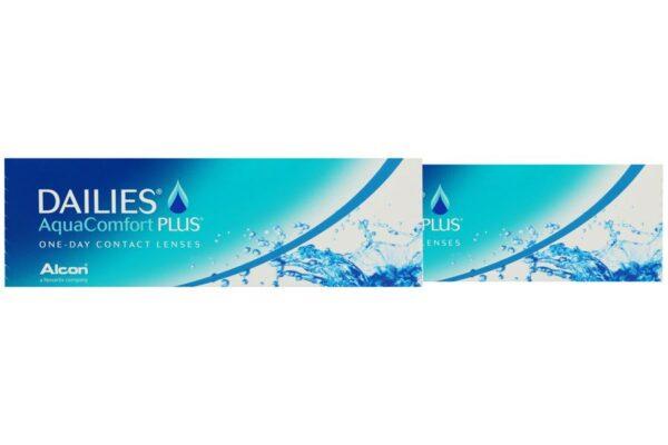 Dailies AquaComfort Plus 2 x 30 Tageslinsen
