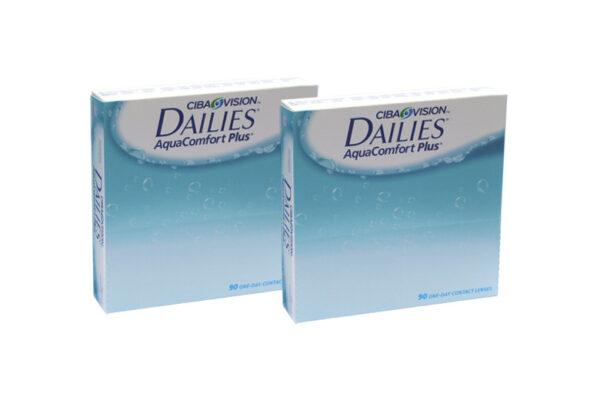 Dailies AquaComfort Plus 2 x 90 Tageslinsen Sparpaket 3 Monate