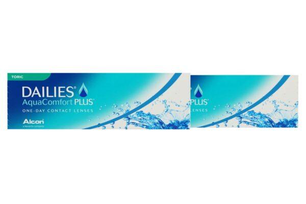 Dailies AquaComfort Plus Toric 2 x 30 Tageslinsen