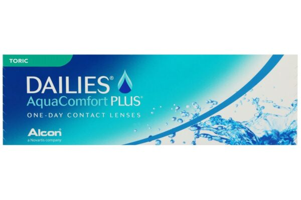 Dailies AquaComfort Plus Toric 30 Tageslinsen