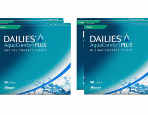 Dailies AquaComfort Plus Toric 4 x 90 Tageslinsen Sparpaket 6 Monate