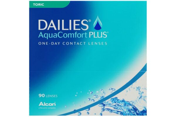 Dailies AquaComfort Plus Toric 90 Tageslinsen