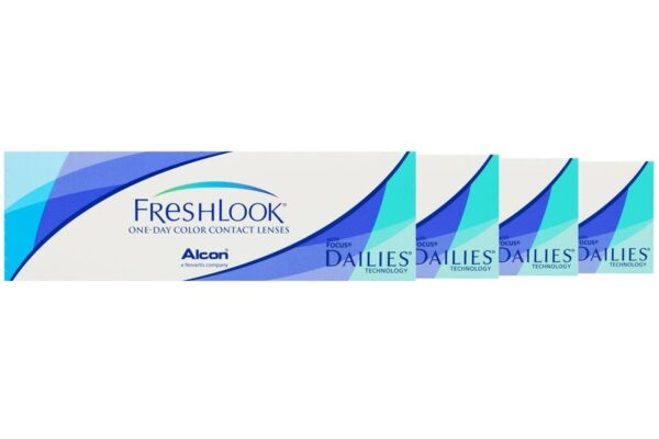 Dailies FreshLook Colors One-Day 4 x 10 farbige Tageslinsen