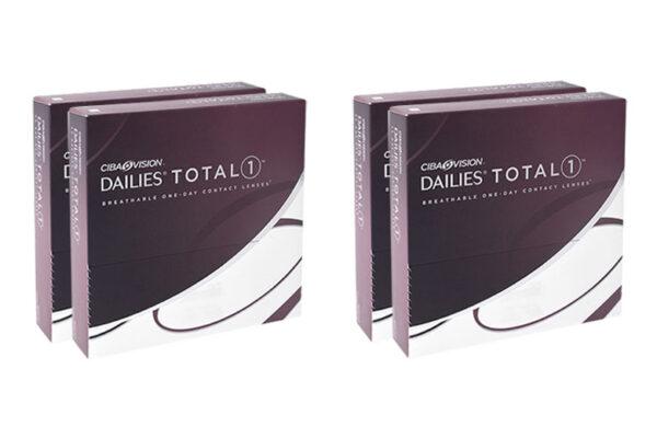 Dailies Total 1 4 x 90 Tageslinsen Sparpaket 6 Monate