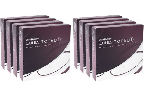 Dailies Total 1 8 x 90 Tageslinsen Sparpaket 12 Monate